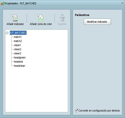 RJT MATCHES ProRealTime configuración (paso 3)