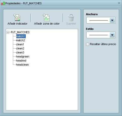 RJT MATCHES ProRealTime configuración (paso 4)