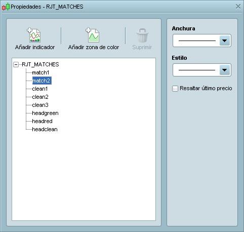 RJT MATCHES ProRealTime configuración (paso 5)